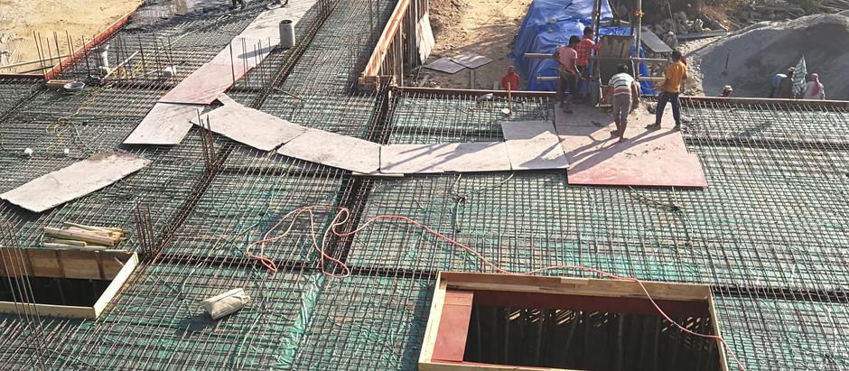Le chantier de Kalimpong