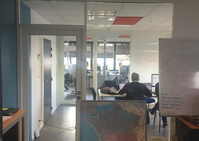 Transparence entre bureaux