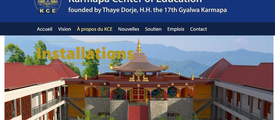 Publication de notre projet sur le site KCE