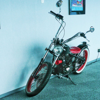 Cptain's electric motor cycle