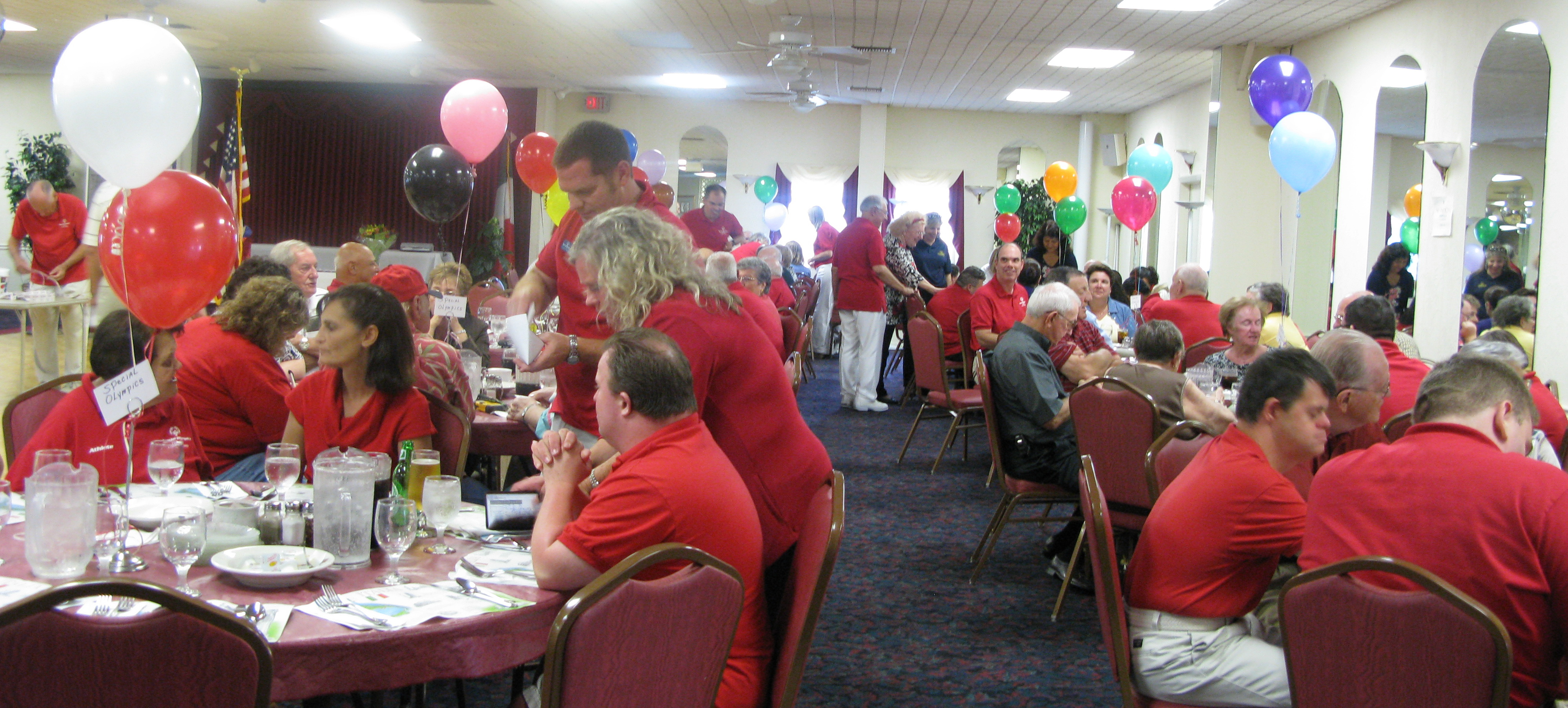 Special Olympics Party