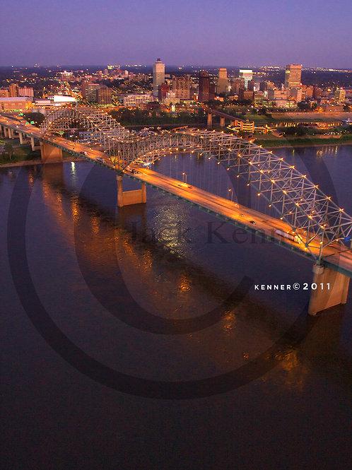 Memphis Bridge Aerial