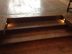Lights on Steps