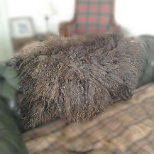 Handmade felted Shetland sheep fleece rug  throw