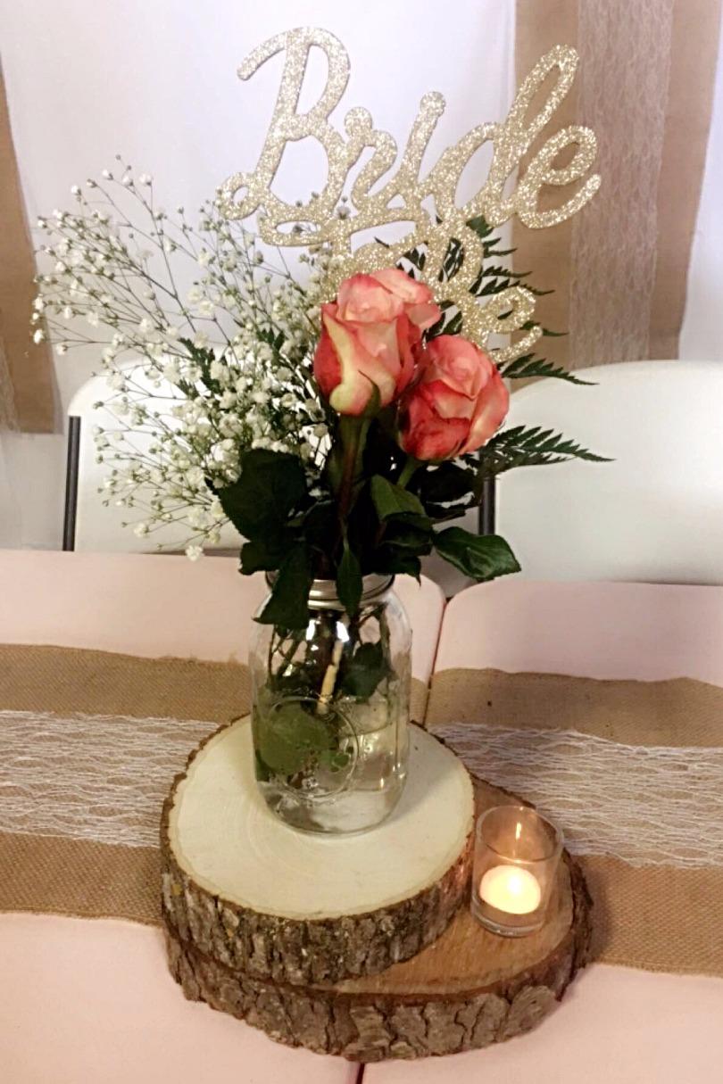 Flower Bouquet for Bride Table