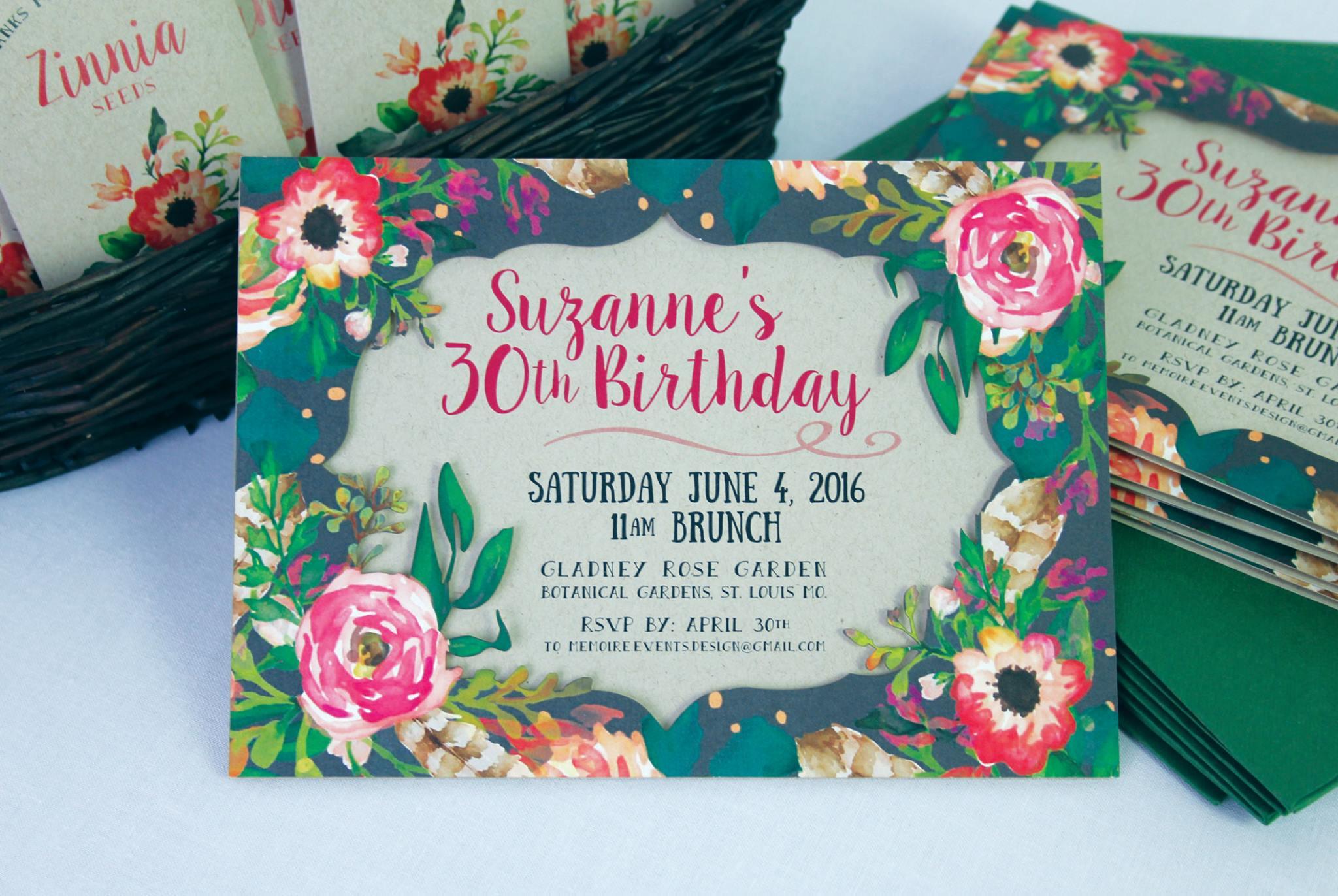 30th Birthday Garden Party
