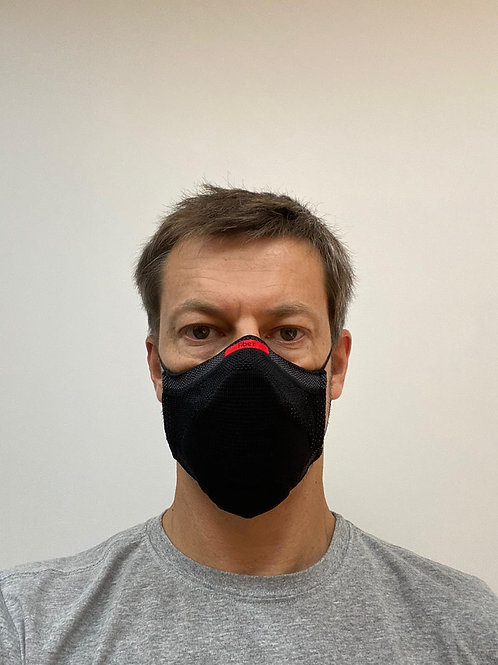 Kit com 5 Máscaras Esportivas Fiber