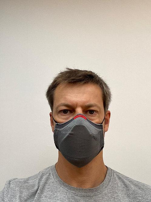 Kit com 3 Máscaras Esportivas Fiber