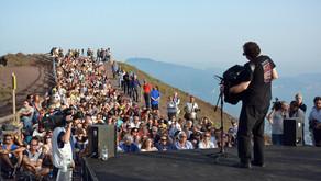 In concerto sul Vesuvio