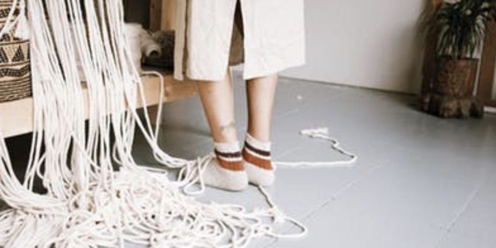 LET'S KNOT! Letting Go & Macramé Workshop with Nelsy