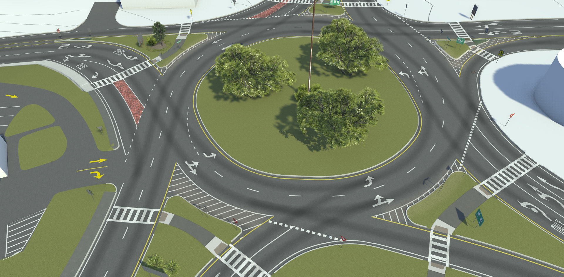 VectorZero RoadRunner Spiral Roundabout