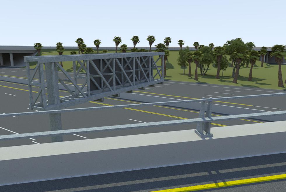 VectorZero Overpass Sign 5