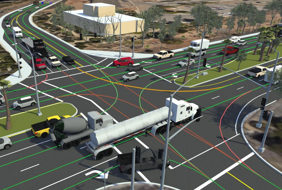 VectorZero Map Overlay Intersection