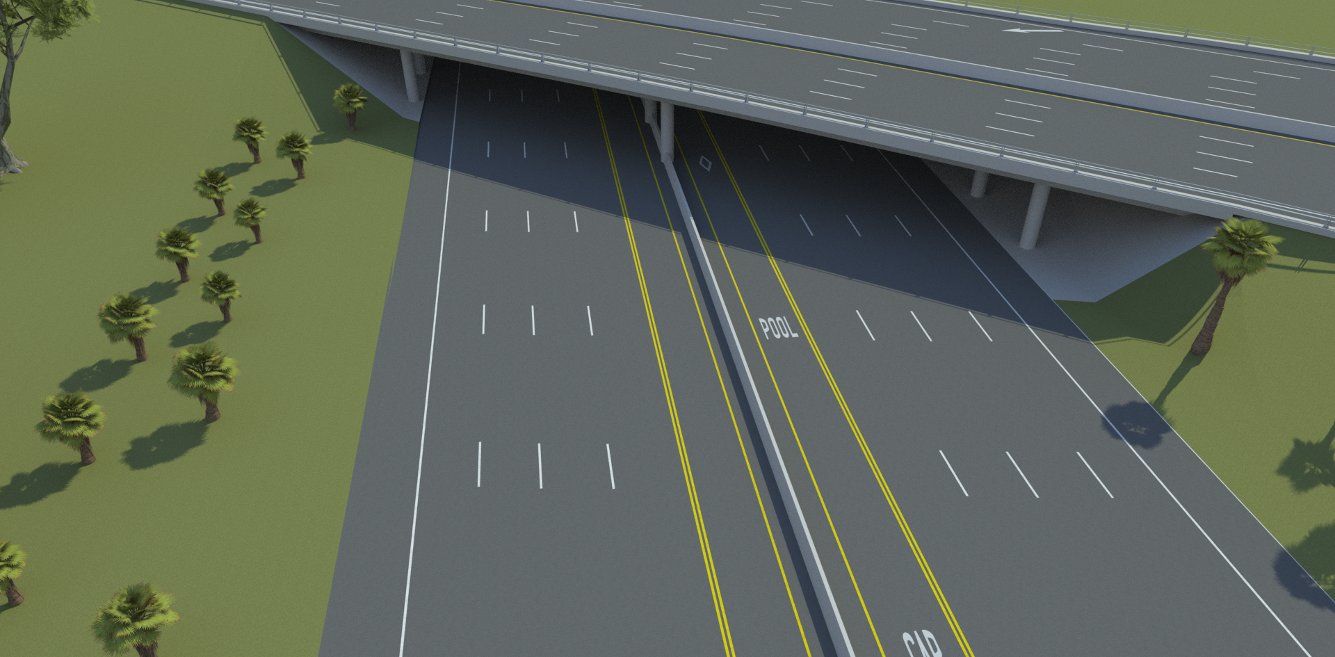 VectorZero Freeway Overpass 3