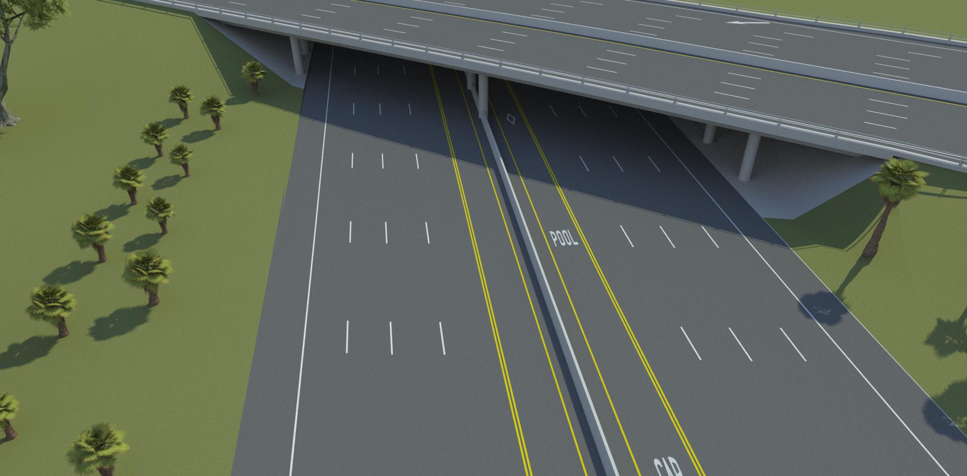 VectorZero Freeway Overpass 3