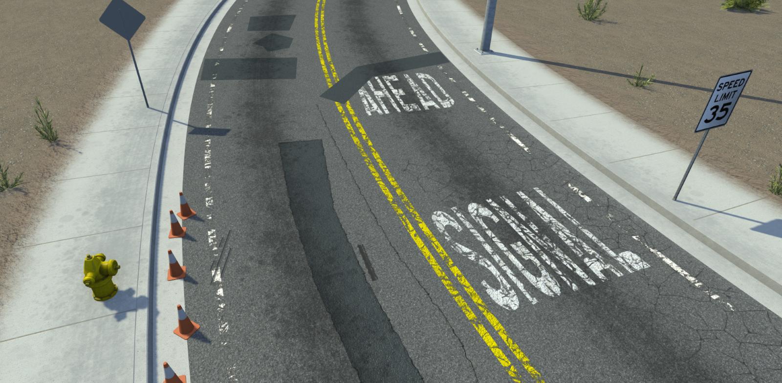VectorZero Road Imperfections