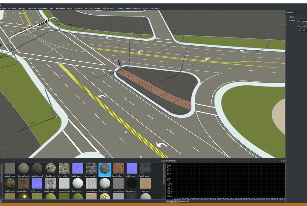 VectorZero User Interface Complex Intersection