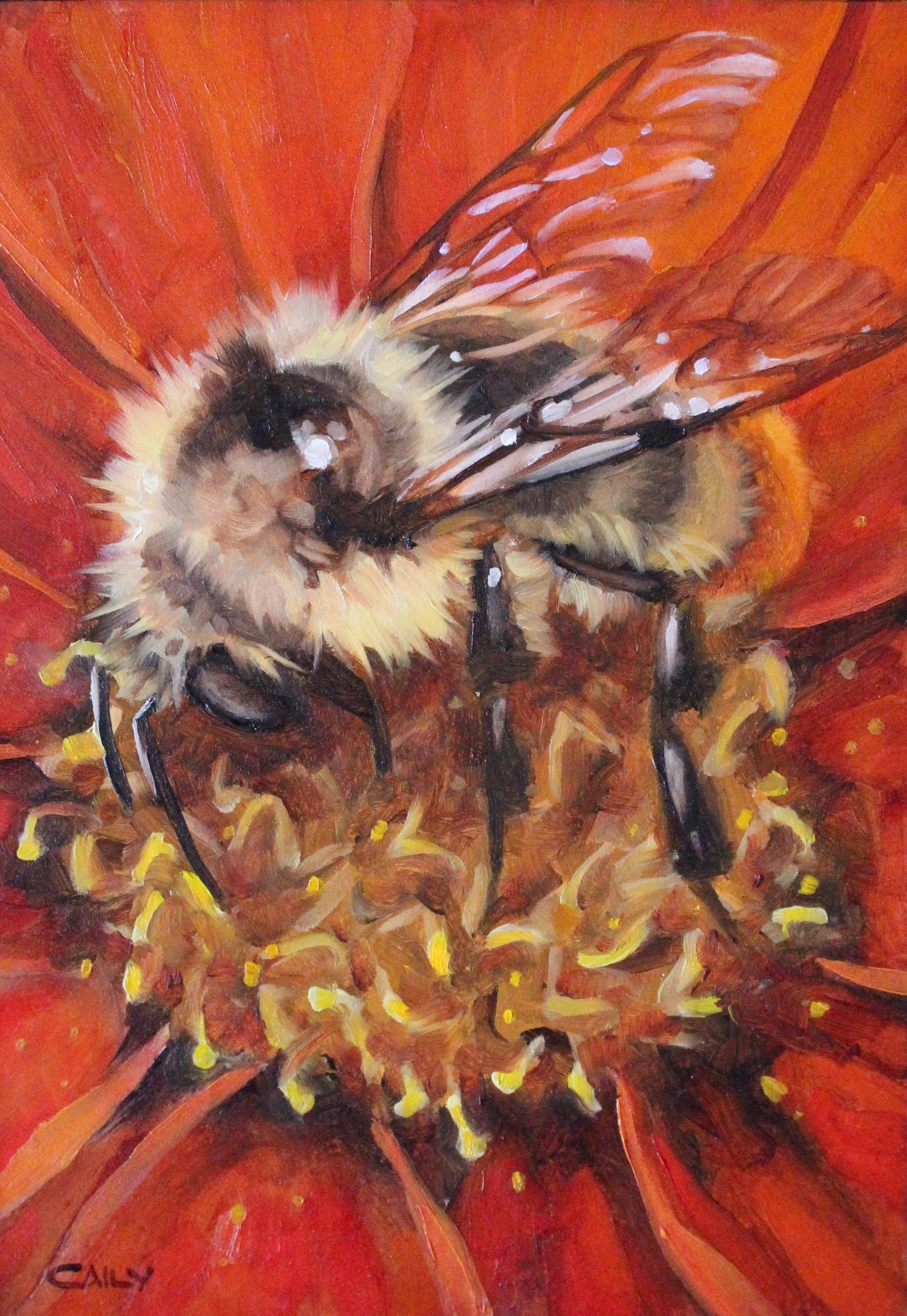 """""""Bumble Bee Cosmos"""""""