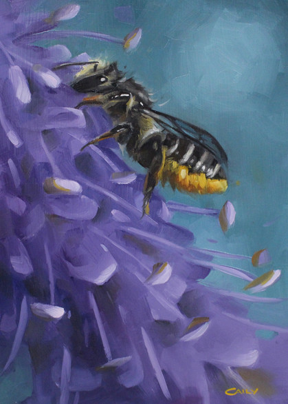 """""""Veronica Leafcutter Bee"""""""