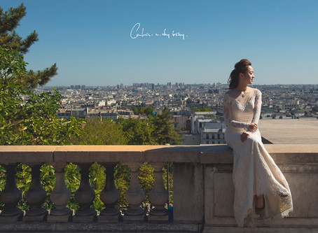 Agnes & Simon Pre-wedding @ Paris, France