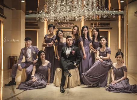 Polly & Sam Wedding Day @ Harbour Grand Hong Kong