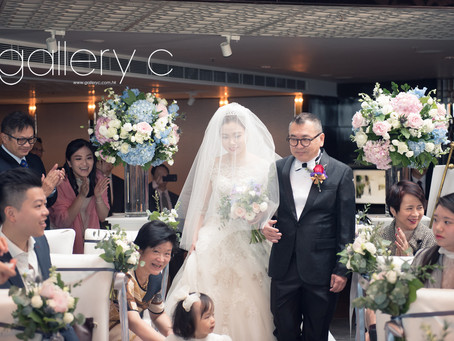 Stephanie & Nicodemus Wedding Day @ The Ritz-Carlton, Hong Kong