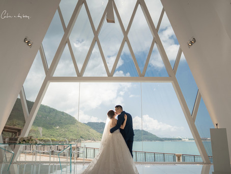 Michelle & Perry Wedding Day @ Auberge Discovery Bay, Hong Kong