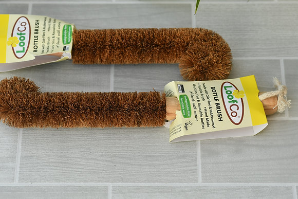 Loofco Coconut Fibre Bottle Brush