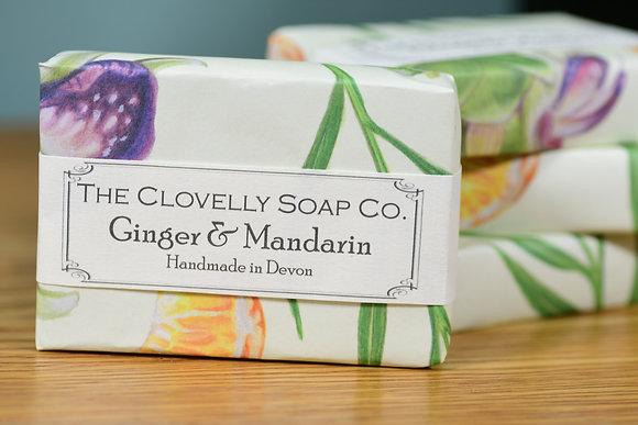 Ginger & Mandarin Soap