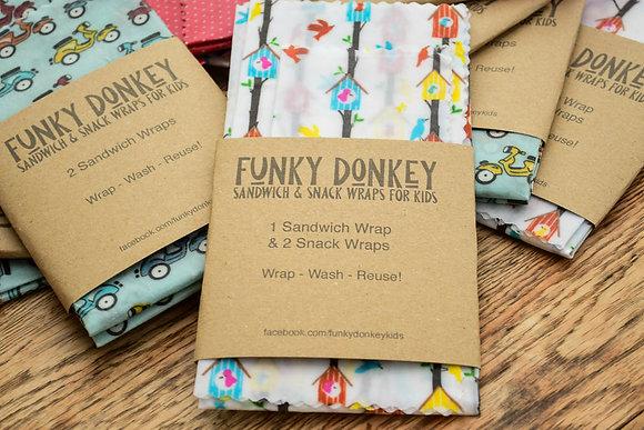 Bees Wax Wraps for Kids - Birdboxes