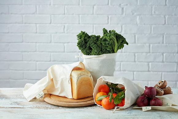Organic Bread & Produce Bag