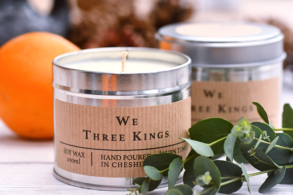 Soy Wax Candle - We Three Kings