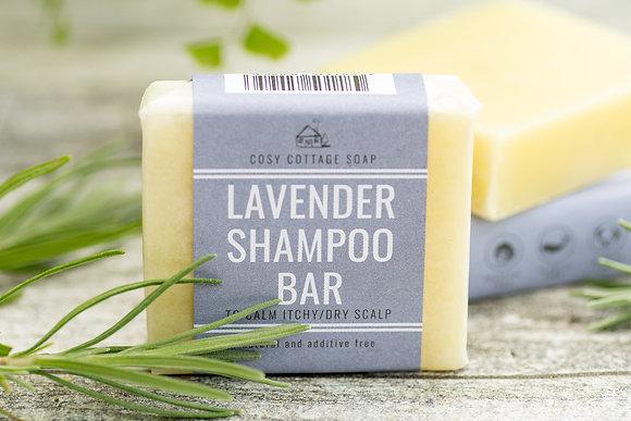 Caring Shampoo Bar - Lavender (Itchy Scalp) 55g