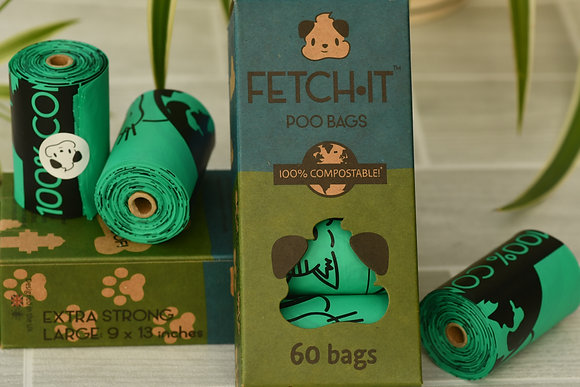 FETCH IT Poo Bags x 60