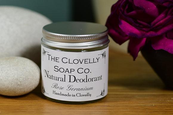 Deodorant - Rose Geranium