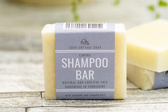 Caring Shampoo Bar - Fragrance Free (Sensitive Scalps) 55g
