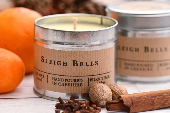Soy Wax Candle - Sleigh Bells