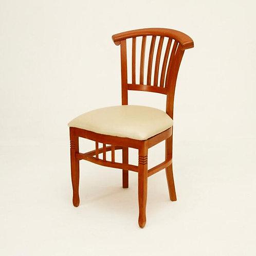 Cadeira de madeira real