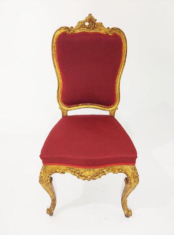 Cadeira Reinado Dourada - Ref. 1002