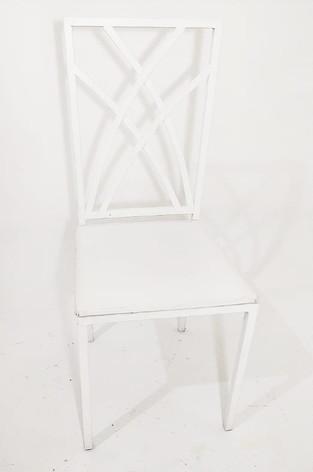 Cadeira de Ferro Branca - Ref. 1019