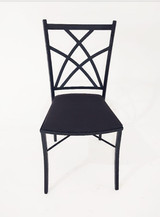 Cadeira de Ferro Preta - Ref.1018