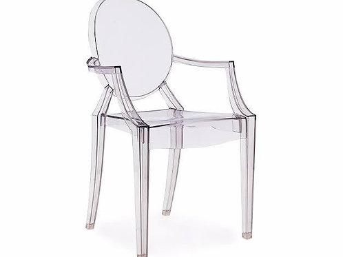 Cadeira ghost cristal