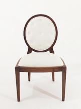 Cadeira Oval Medalhão sem braço - Ref. 1015