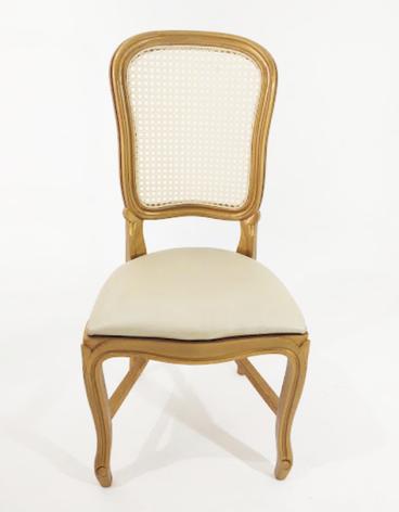 Cadeira Luiz Felipe dourada - Ref. 1460