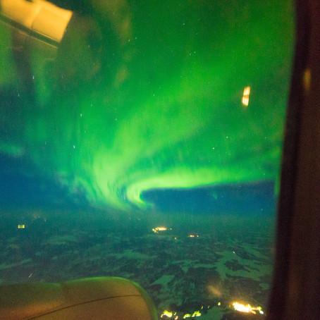 Невозможное возможно или как увидеть Полярное Сияние из самолета