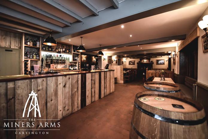Completely Refurbished Bar area