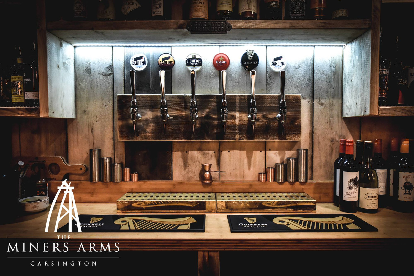 Feature Draft Beer Pumps
