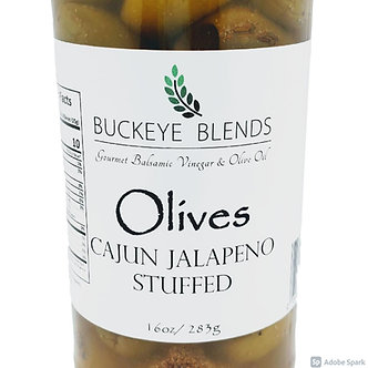 Cajun Jalapeno Stuffed Olives 16oz