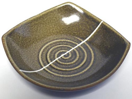 Brown Dipping Bowl