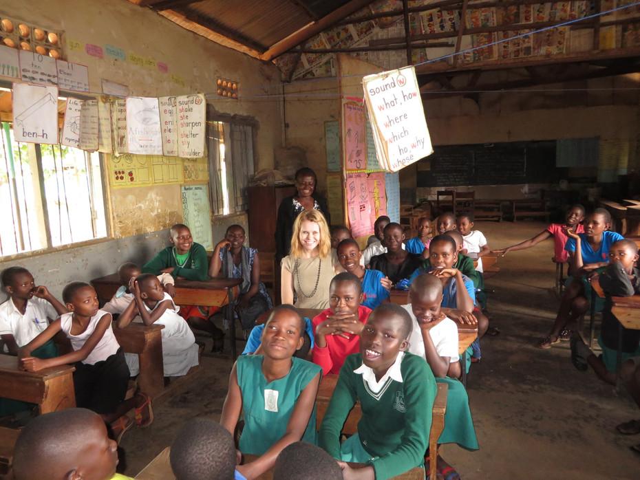 Volunteering in Uganda with Girl Up Uganda